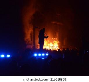 Pogrom, terrorism, aggression, violence, arson, Ukraine