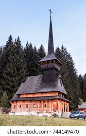 Poiana Brasov, Romania, October 05, 2017 : The Church of John the Baptist in the Poiana Brasov city in Romania.