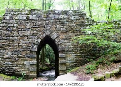 Poinsett Bridge, built in 1820. Oldest Bridge in South Carolina