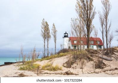 Point Betsie Light near Frankfort, Michigan
