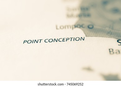 Point Conception, California, USA.