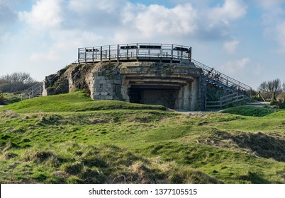 Point du Hoc German bunker from the D-Day