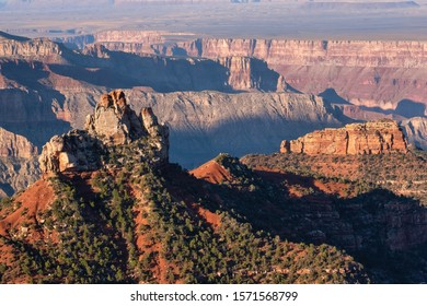 Point Imperial, the highest overlook alonmd the North Rim Scenic Drive, Grand Canyon National Park, Arizona, USA
