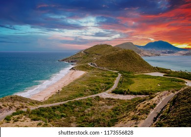 Point of Land in St Kitts