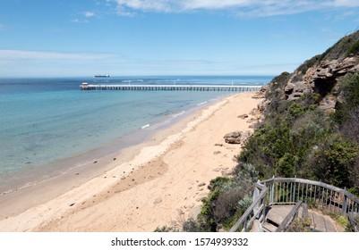 Point Lonsdale jetty 2 Victoria Australia