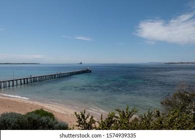 Point Lonsdale jetty Victoria Australia
