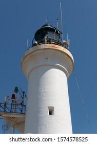 Point Lonsdale Lighthouse detail Victoria Australia