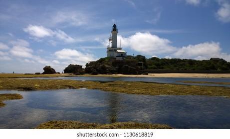 Point Lonsdale marine park beach lighthouse seascape pier