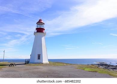 Point Riche Lighthouse, Port au Choix Archaeological Site, Newfoundland