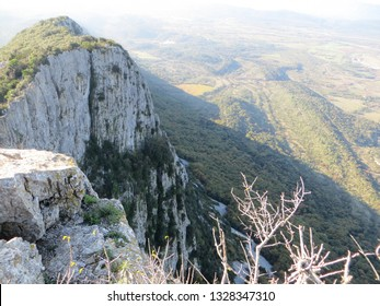 Point of view of nature in pic saint loup