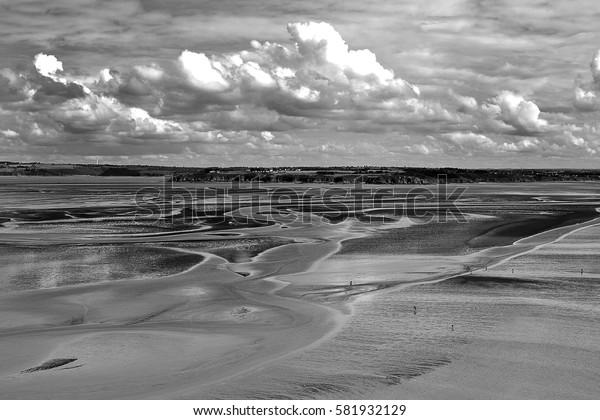 pointe du roselier ( plerin sur mer) 09/2015 : marée basse sur la pointe du roselier