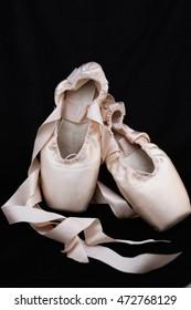 Pointe shoe, ballet, slippers,