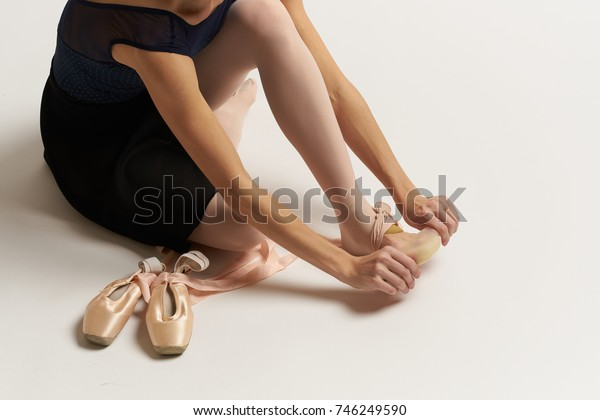 Pointe shoes, ballet, ballet dancer