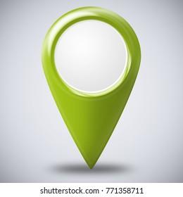 Pointer in Green
