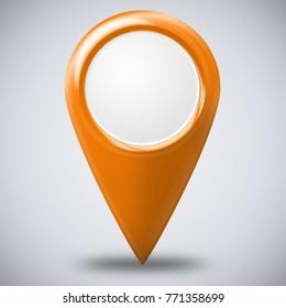 Pointer in Orange
