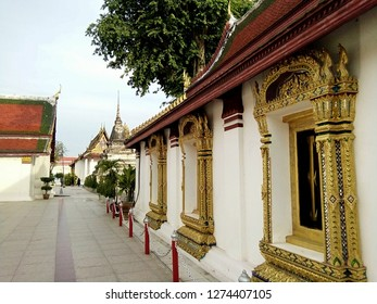Points of interest in Wat Phra Sri Rattana Mahathat temple , Phitsanulok Thailand.