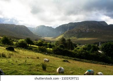 The Poisoned Glen Donegal Ireland Europe