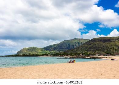 Pokai Bay Beach Park, Waianae, Oahu, Hawaii
