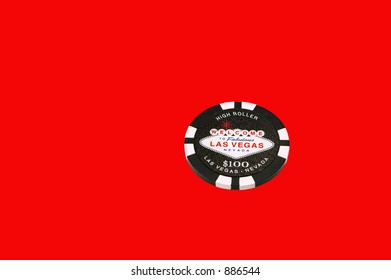 Poker Chip  (with Clipping Path)