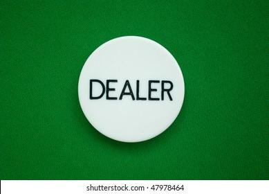 Poker Dealer Button Stock Photos Images Photography Shutterstock