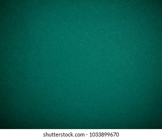 Poker table felt background in cold green color