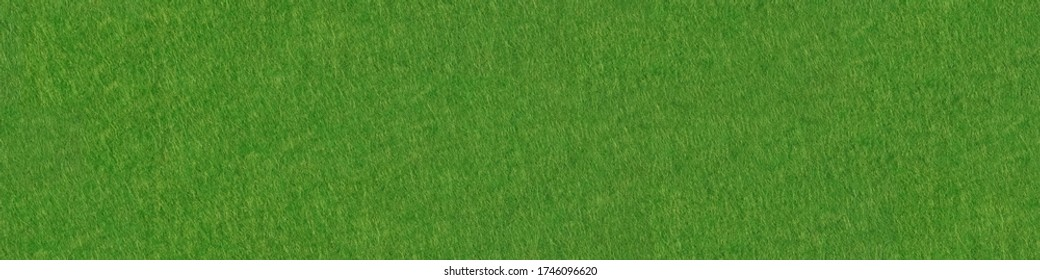 Poker table felt background in green color. High quality panoramic seamless texture, pattern for artwork.