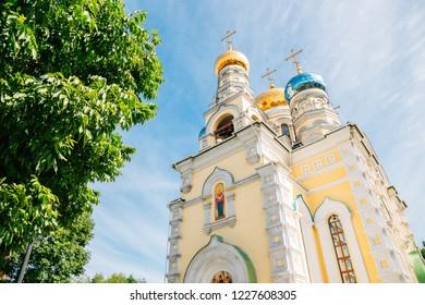 Pokrovsky cathedral in Vladivostok, Russia