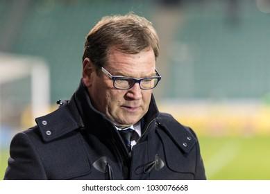 POLAND 16.02.2018, Warszawa, Legia Warszawa - WKS Slask Wroclaw, Ekstraklasa, polish league game: Jan Urban