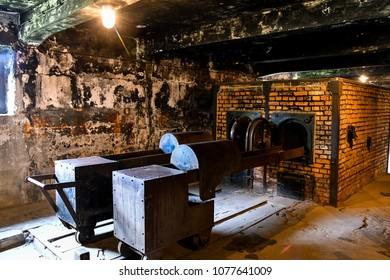 Poland Auschwitz Birkenau German Concentration and Extermination Camp World Heritage