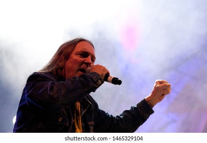POLAND, Czestochowa - 06 May 2012: Muniek Staszczyk vocalist of TLOVE band and other music stars, on the occasion of the 30th anniversary of the band's existence. Photo of Marek Piekarczyk, band: TSA