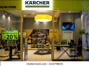 POLAND, KRAKOW - March 20, 2018: Karcher store in Bonarka City Center
