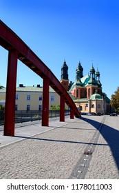 Poland Poznan Cathedral bridge