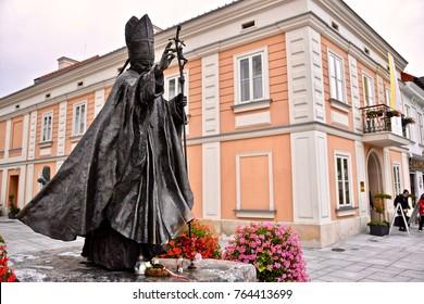 ポーランド・ワドヴィス・ドーム教会Pope John Paul II Kremowka Napoleonka