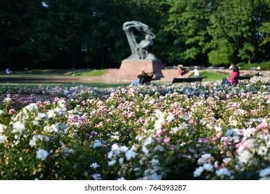 Poland Warsaw Lazienki Park Royal Baths Park