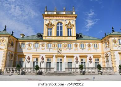 Poland Warsaw Wilanow Palace