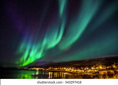Polar lights in Norway
