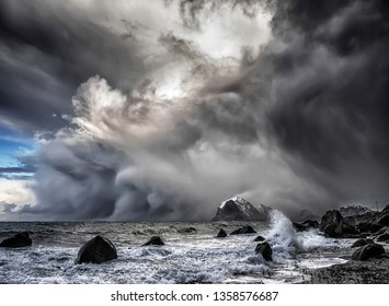Polar low - the arctic hurricane For centuries mariners of the Nordic Seas have told tales of unexpected encounters with fierce storms that appeared out of nowhere to wreak havoc on the seas.