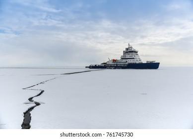 Polaris Icebreaker, Arctic Ocean, 29th December 2016