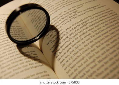 a polarized filter casting a shadow of a heart on a book.