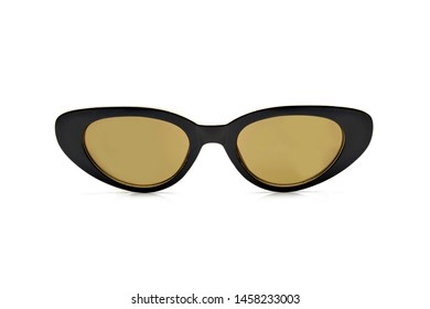 Polarized sunglasses for women, modern and fashionable. isolated on white background.
