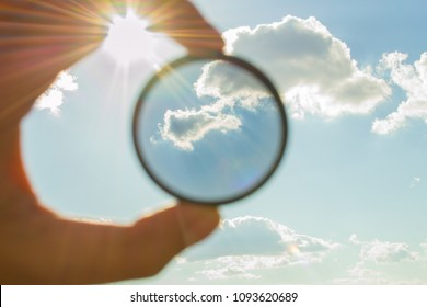 polarizing filter for the camera