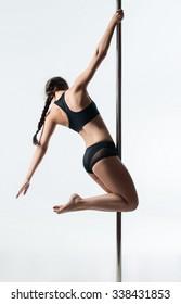 pole dance girl aloft