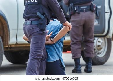 Police arrested.