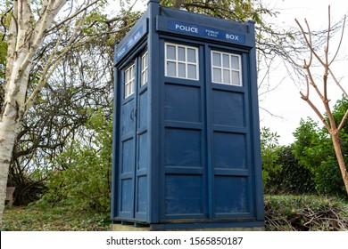 Police Box as Doctor Who's Tardis