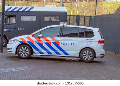 Police Car At Amsterdam The Netherlands 2019