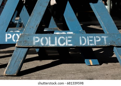 Police Department Barricades