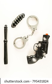 Police equipment toy