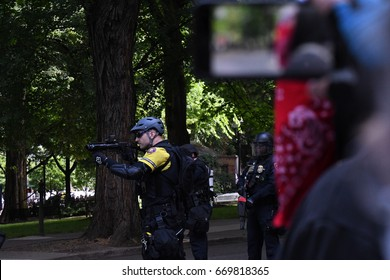 Police Force | Portland Or | June 4th 2017