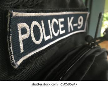 Police K 9 patch