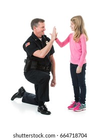 Police: Officer And Child Share High Five